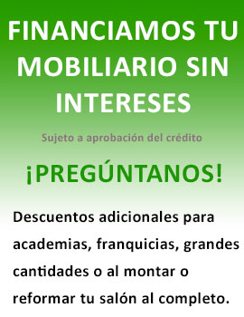 FINANCIAMOS TU MOBILIARIO SIN INTERESES